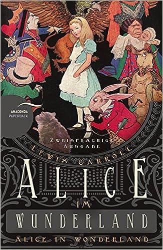 Alice Wunderland Wonderland (Zweisprachige