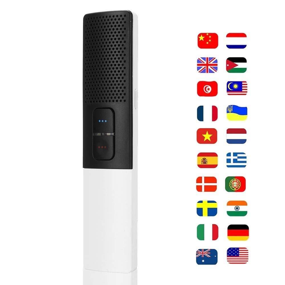 スマートボイス翻訳機、双方向リアルタイム翻訳機30言語、旅行ビジネス会議の学習用   B07QF5N15Z