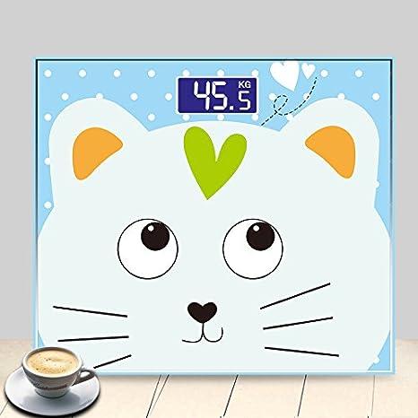 Smart Mini Báscula Electrónica Baño De Dibujos Animados ...