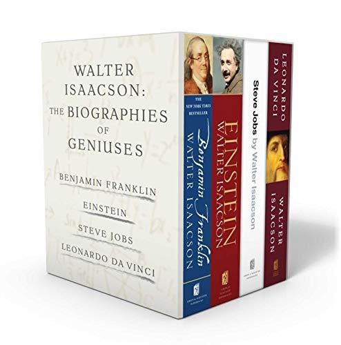 Biographies of Geniuses: Benjamin Franklin, Einstein, Steve Jobs, and Leonardo da Vinci ()