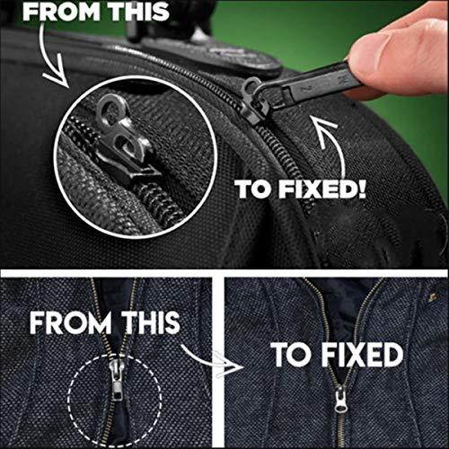 Gogdog 6 12Pcs Universal Fix Zipper Repair Kit de Repuesto Zip Slider Zippers Puller