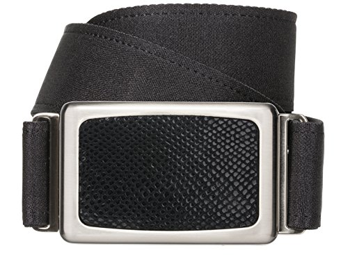 Hipsi Invisible, Slimming, Hidden, Stretch Flat Belt for Women XS/S - Black