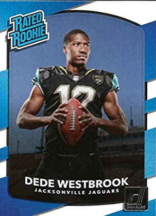 51c70e52a 2017 Donruss  337 Dede Westbrook Jacksonville Jaguars Rated Rookie Football  Card