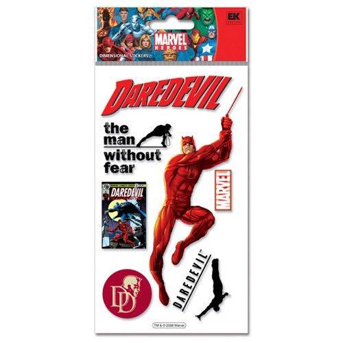EK Success Marvel 3-D Stickers-Daredevil