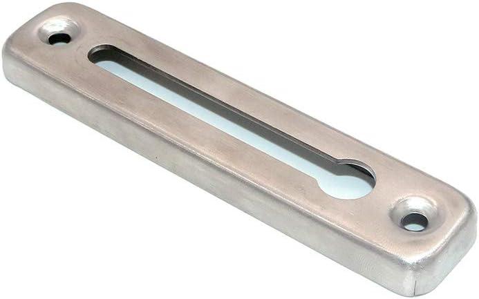 NUZAMAS 2 de cerradura de cadena de puerta de acero inoxidable con bloqueador de seguridad limitador de puerta externo limitador de puerta delantera seguridad de cerradura de puerta secundaria
