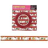 Hello Kitty Original Sanrio Japan Design Decorative Mini Paper Tape (L:15m X W1cm)