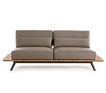 Lounge sofa 2 sitzer outdoor  Amazon.de: Bizzotto Sofa 2-Sitzer Catalina, taupe