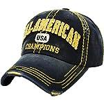 Distressed Vintage Baseball Cap Dad Hat Adjustable