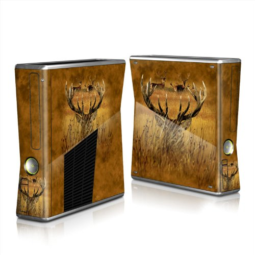 MyGift Hiding Buck Design Protector Skin Decal Sticker for Xbox 360 S Game Console Full Body