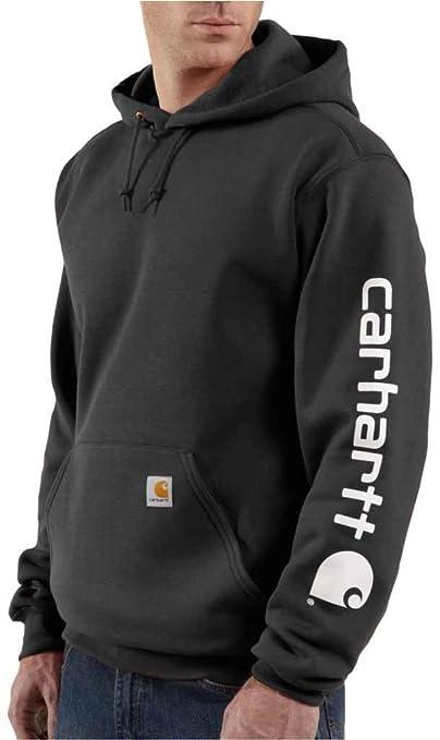 Carhartt Signature – Sweatshirt mit Kapuze Herren, mit Carhartt Logo