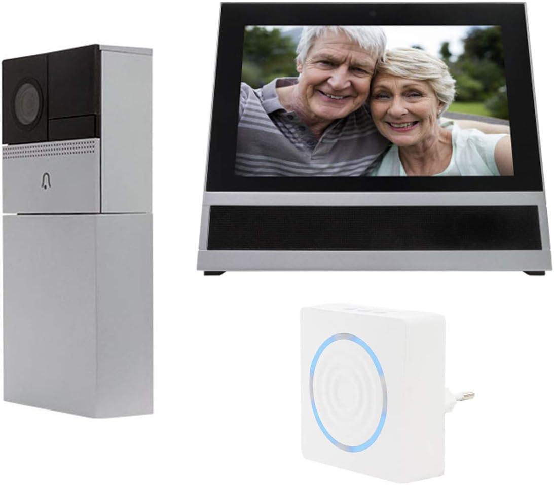 Link2Home - Videoportero WiFi con Monitor, Sensor de Movimiento y ...