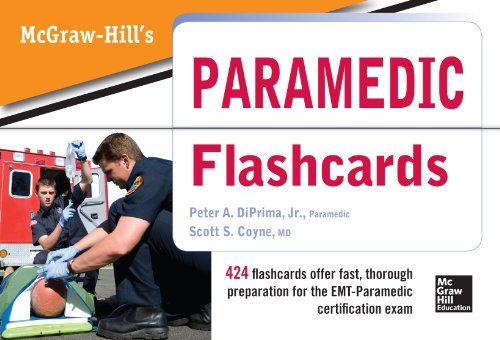 McGraw Hill's Paramedic Flashcards - http://medicalbooks.filipinodoctors.org