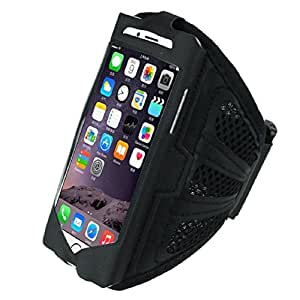 """Doinshop (TM) New Fashion Premium Sports Workout Running Armband Case Cover For iphone 6 4.7"""" Inch (black)"""