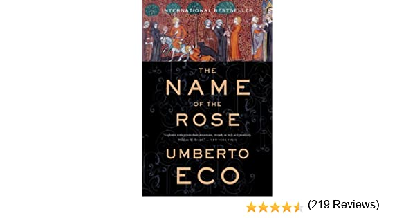 The of ebook rose name the umberto eco