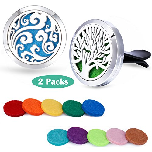 Car Fragrance Essential Oil Prume Diffuser Vent Clip With Felt Pads