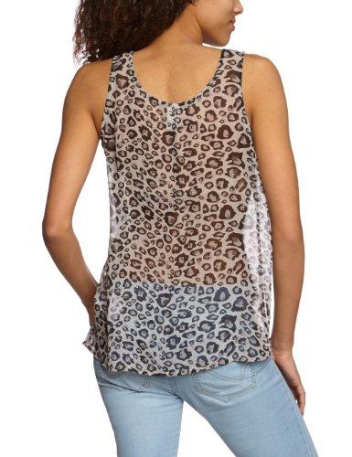 Vila - Camiseta Vila Animal Gris