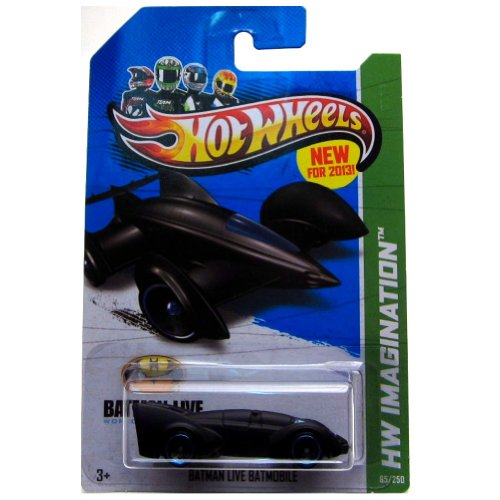 Hot Wheels 2013 Batman Live Batmobile HW Imagination Single Car 65/250 1:64