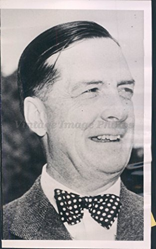 1952 Earl Red Blaik Army Football Coach Athletic Director West Point Press Photo