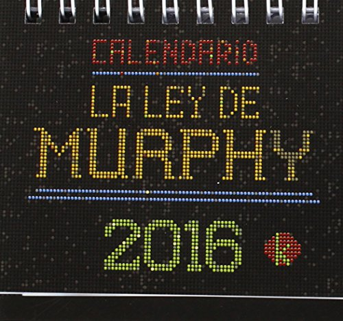 2016 Calendario La Ley De Murphy