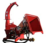 "Farmer Helper Wood Chipper 6""dia. Hydraulc Feed Cat.I&II 3pt 35HP+ Rated (BX62)"