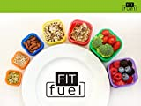 Fit Fuel 7 piece Portion Control Containers for Weight Loss and Diet ...
