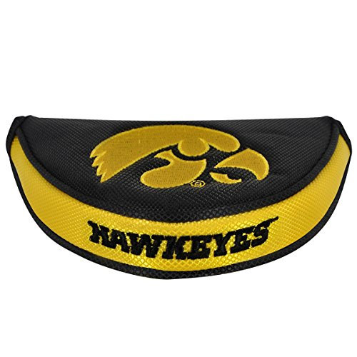 Team Effort Iowa Hawkeyes Mallet Putter ()