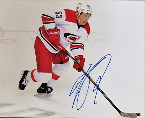 Jeff Skinner Signed Autograph Auto 8x10 Photo Guaranteed to pass JSA COA by JP's Sports/Rock Solid Promotions Inc