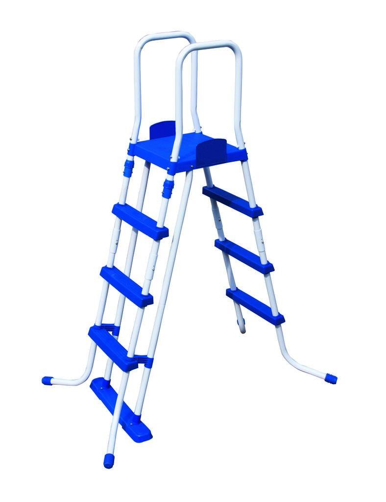 Pool-Leiter 3 Stufen für Pool bis 122cm für Fast Set und Frame Pool