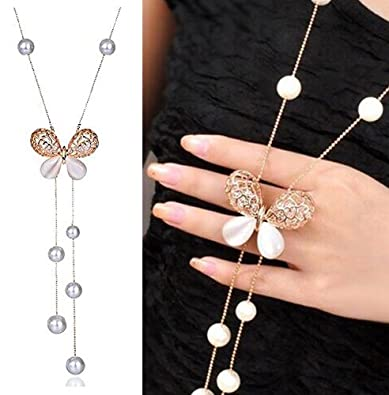 YouBella Fashion Jewellery Stylish Pendants for Girls with