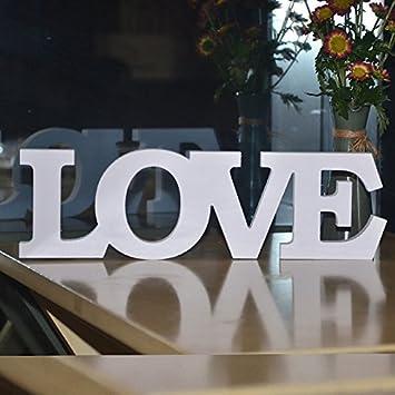 Amazon.com: Sala de bodas fiesta letra decoración amor ...
