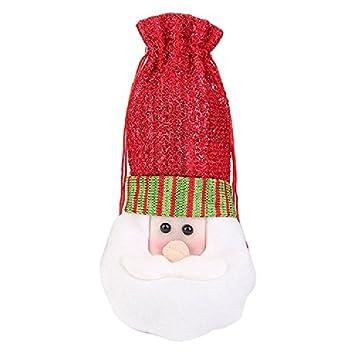 Wein Flasche Schutzhülle Bag Auykoop Weihnachten Tisch Küche Dekoration  Geschenke Taschen Für Home Supplieshappy Neue