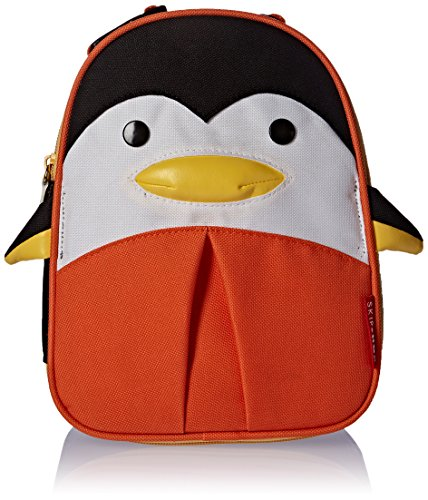 Skip Hop Baby Zoo Little Kid and Toddler Insulated and Water-Resistant Lunch Bag, Picasso Penguin - Penguins Lunch Bag