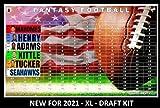 SportzJoker Fantasy Football Draft Board 2021 Kit