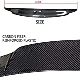 JC SPORTLINE Carbon Fiber Rear Trunk Spoiler fits