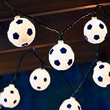 10ct Soccer Ball String Light