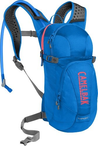 CamelBak Magic Crux Reservoir Hydration Pack, Carve Blue/Fiery Coral, 2 L/70 oz ()