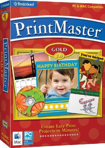 PrintMaster Gold 2.0 - Old Version