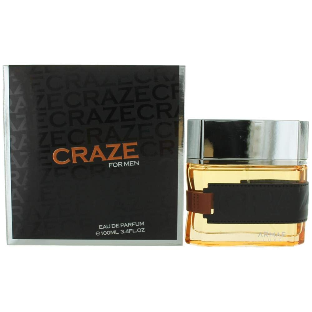 ARMAF LUXE CRAZE 3.4 EAU DE PARFUM SPRAY FOR MEN by Armaf Luxe STERLING PARFUMS