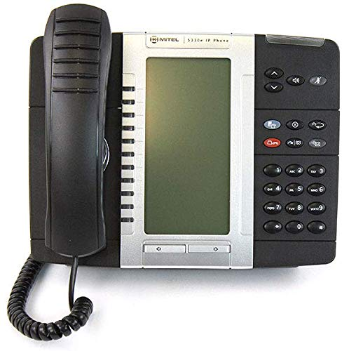 Mitel 5330E IP Phone, PoE, Gigabit (50006476)