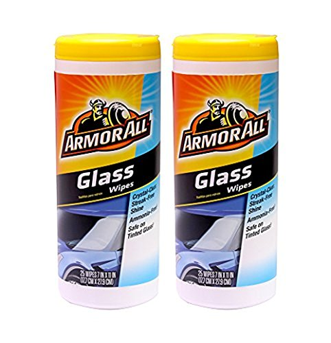 Armor All Glass Wipes (25 ct.) - 2 Pack (Best Car Glass Wipes)