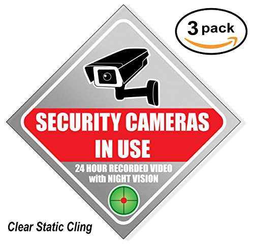 Camera Warning Sticker - 3