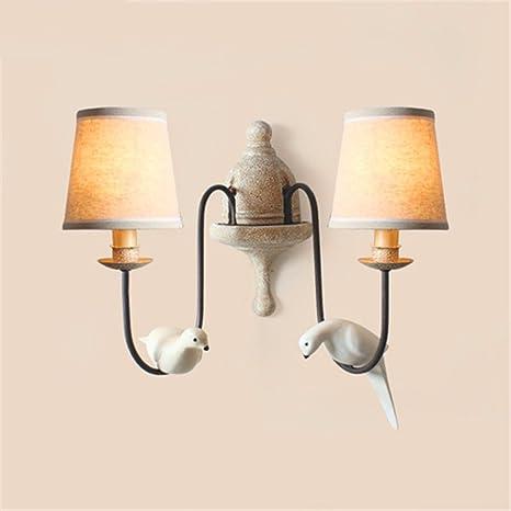 LIYAN lámpara de pared Aplique de pared Base E26/27 Retro ...
