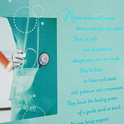 Hallmark Nursing School Graduation Greeting Card (Nurse Graduation) Photo #5