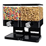Best Cereal Dispensers - Zevro KCH-06134 Compact Dry Food Dispenser, Dual Control Review