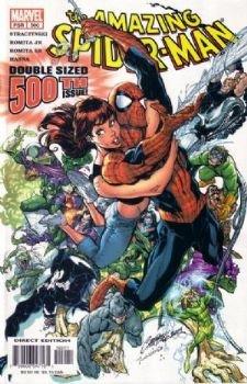 Amazing Spider-man, Vol. 1, No. 500, Dec. 2003