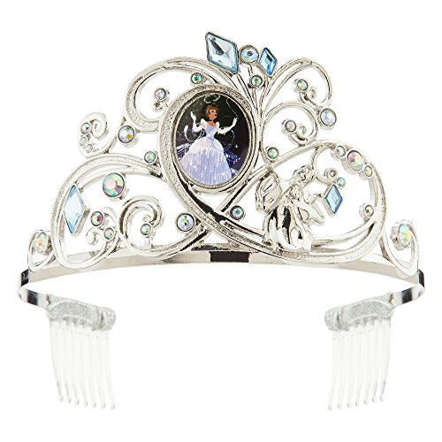 Disney Cinderella Tiara for Kids Silver -