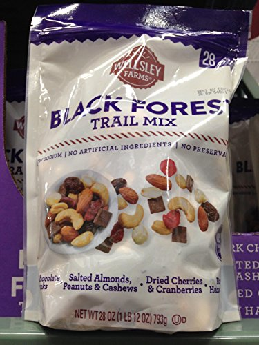 Wellsley Farms simply black forest trail mix 28 oz. (pack of 6) by Wellsley Farms (Image #1)