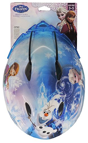 Frozen Toddler Kids Bike Helmet for Girls Ages 3-5 years by Disney with Princess -