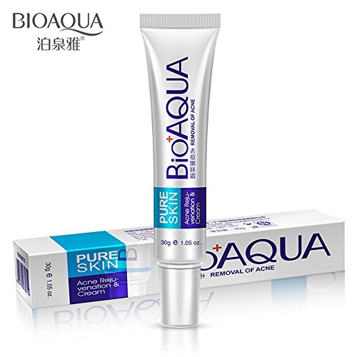 BIOAQUA Scar Cream Scar Gel Scar Treatment,Acne Scar Removal CreamAcne Spots Acne Treatment Blackhead Whitening Cream Stretch Marks