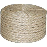 """3/8"""" X 100' Sisal Rope CAT SCRATCHING POST other uses"""